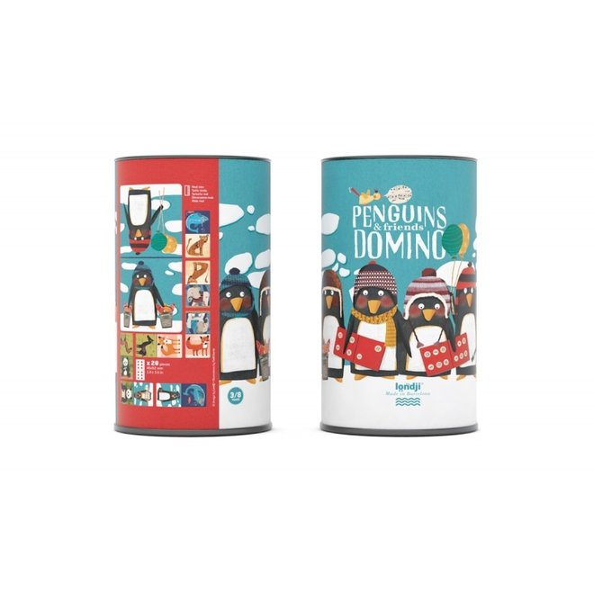 Penguins & friends Domino | Londji