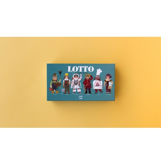 I want to be... Lotto spel | Londji