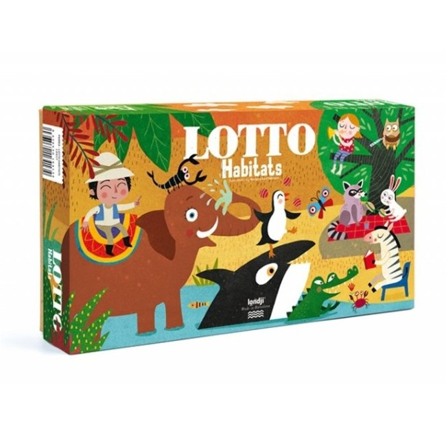 Habitats Lotto spel | Londji