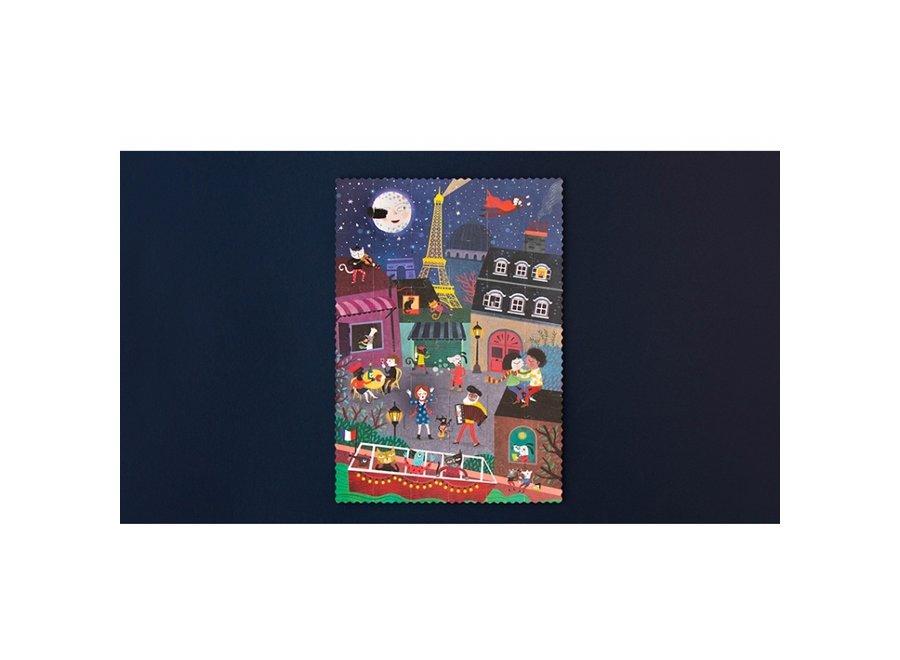 Night & Day puzzel Parijs (36st)   Londji