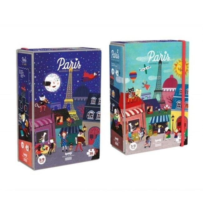 Night & Day puzzel Parijs (36st) | Londji