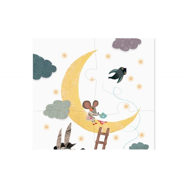 Up to the moon Puzzel (24st) | Londji