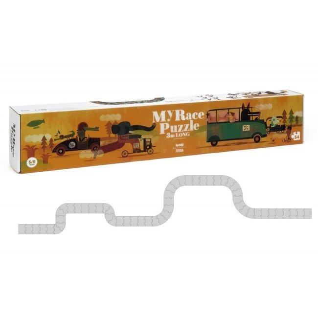 Londji My Race puzzel XXL 3m (54st) | Londji