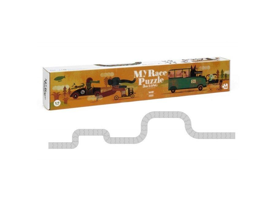 My Race puzzel XXL 3m (54st) | Londji