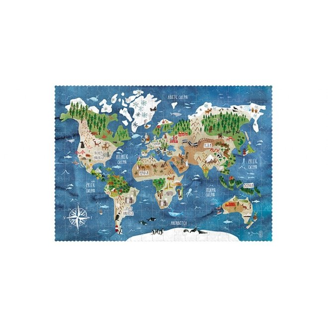 Discover the World Puzzel (200st) | Londji