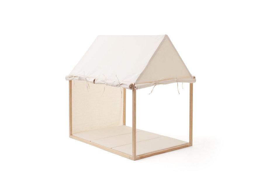 Speelmat opvouwbaar - Gebroken wit | Kid's Concept