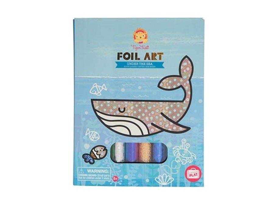 Foil Art - Onderwater in de zee | Tiger Tribe