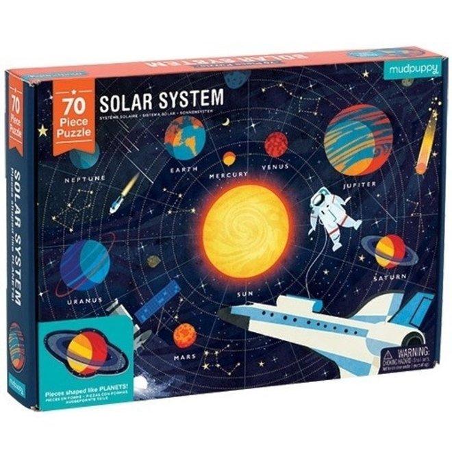 Puzzel Solar System - 70st | Mudpuppy