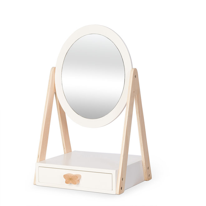 Tafelspiegel met lade   By Astrup