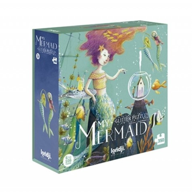 My Mermaid Puzzel (350st) | Londji