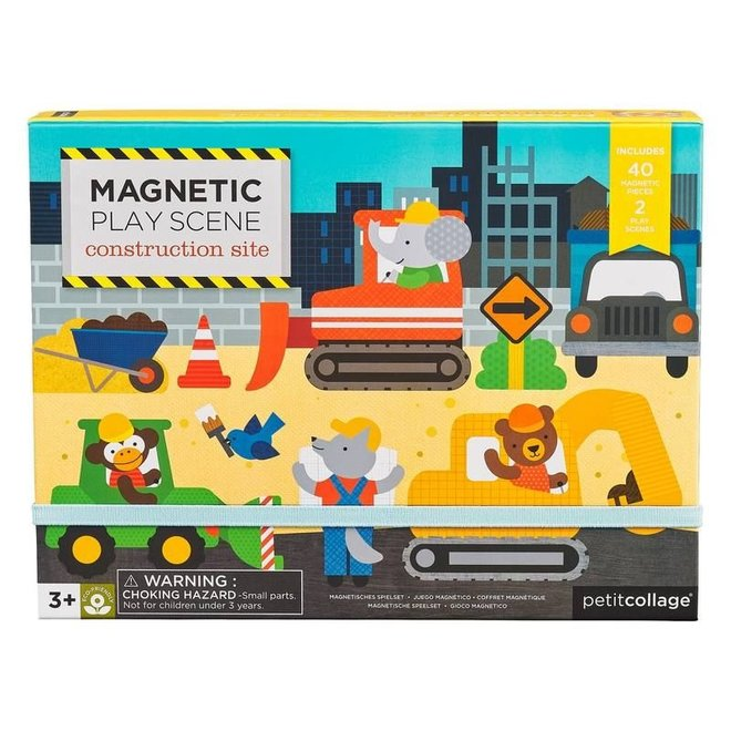 Magneetset - Bouwwerf | Petit Collage