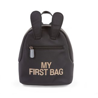 Childhome Kids My first bag - Rugzakje Zwart | Childhome
