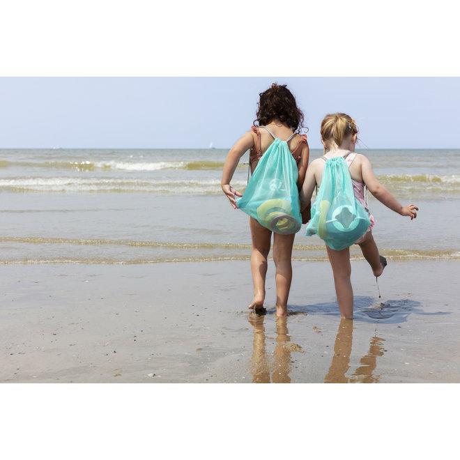 Beach Set: 1 Triplet + 1 Ringo combi (6rings + 1 ball) + Beachbag | Quut