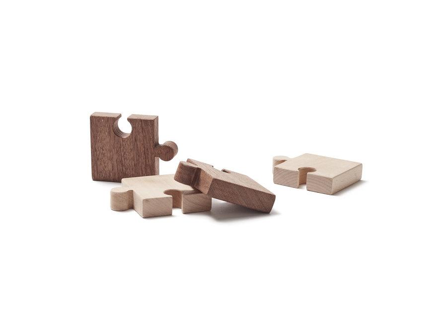 Houten Puzzel Nature (4stuks)   Kid's Concept