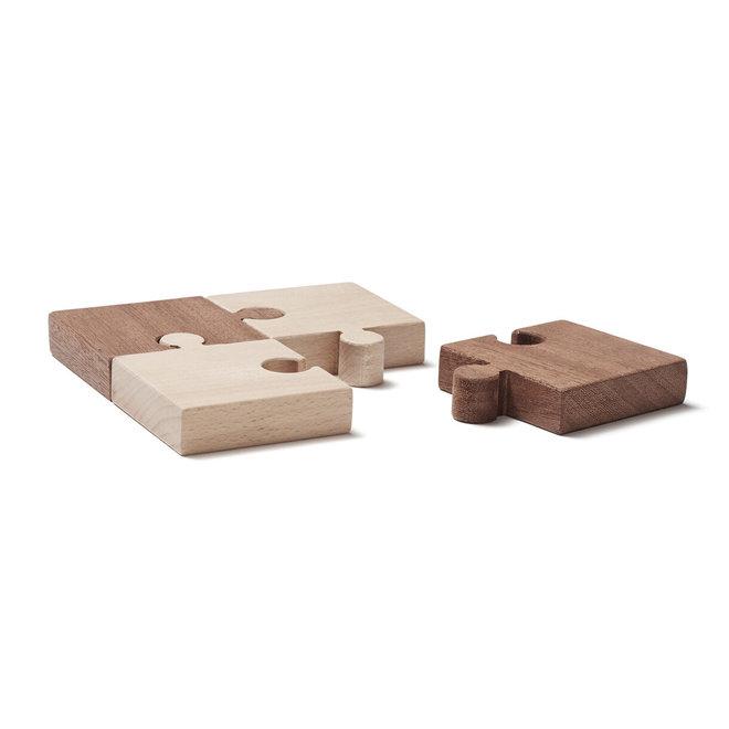 Houten Puzzel Nature (4stuks) | Kid's Concept