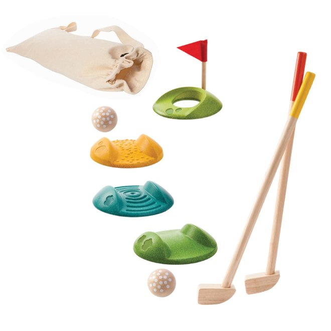 Mini Golf - Houten set | Plan Toys