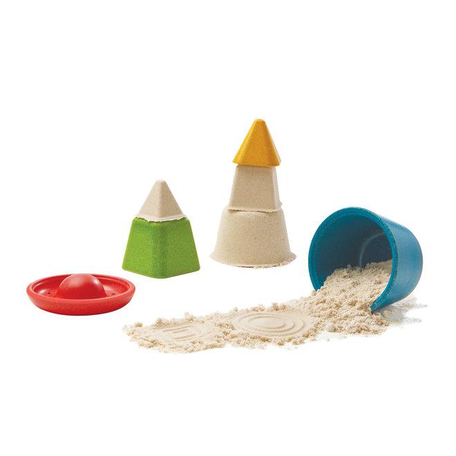 Creatieve zandspeelset | Plan Toys
