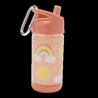 SugarBooger Drinkfles Flip & Sip Rainbows & Sunshine | SugarBooger