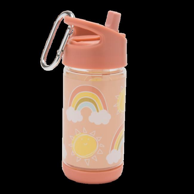 SugarBooger Drinkfles Flip & Sip Rainbows & Sunshine   SugarBooger