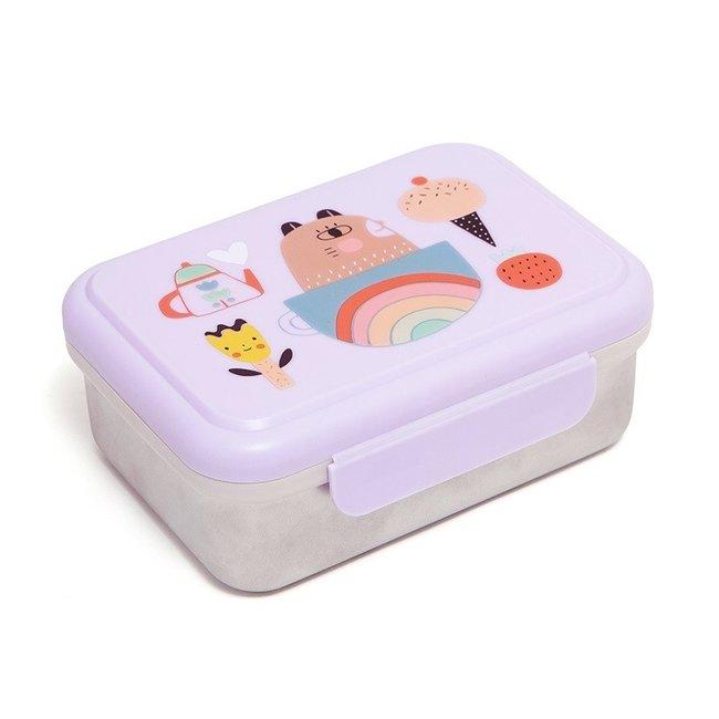Petit Monkey Lunchbox Apple of my eye - Stainless Steel | Petit Monkey