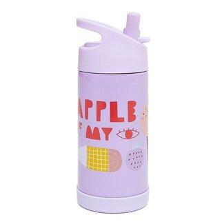 Petit Monkey Drinkfles Stainless Steel - Apple of my eye   Petit Monkey