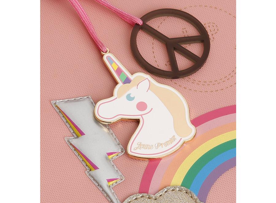 Boekentas It bag Midi Lady Gadget Pink – Jeune Premier