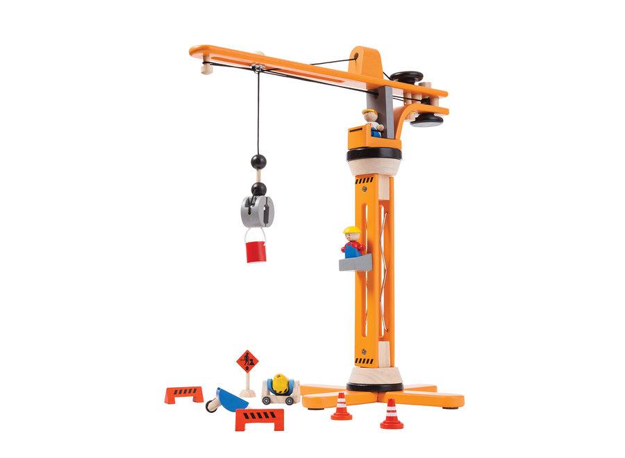 Houten Kraan set | Plan Toys