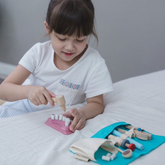 Houten tandarts set | Plan Toys