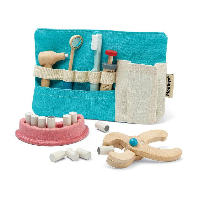 Plan Toys Houten tandarts set | Plan Toys