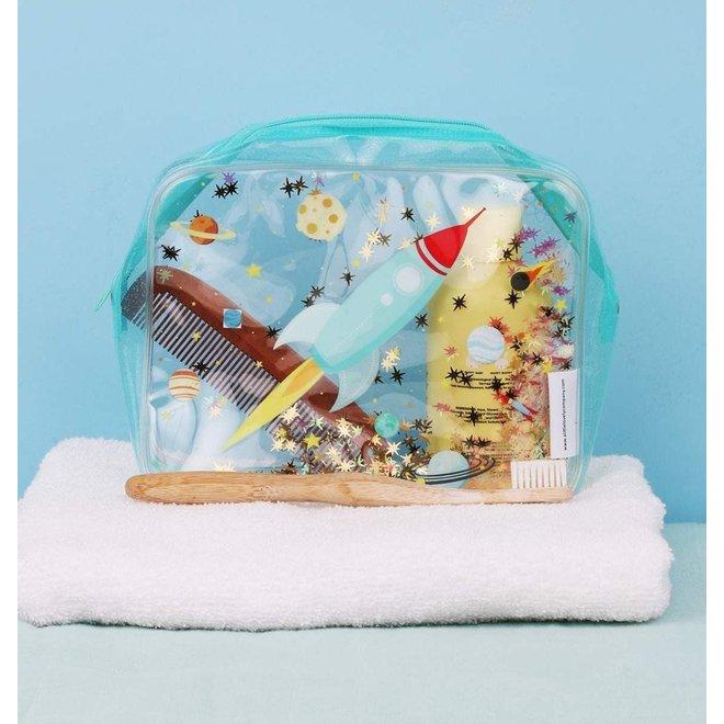 Toilettas: glitter-ruimte | A little lovely company