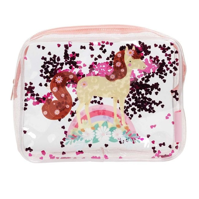 Toilettas: glitter-paard | A little lovely company