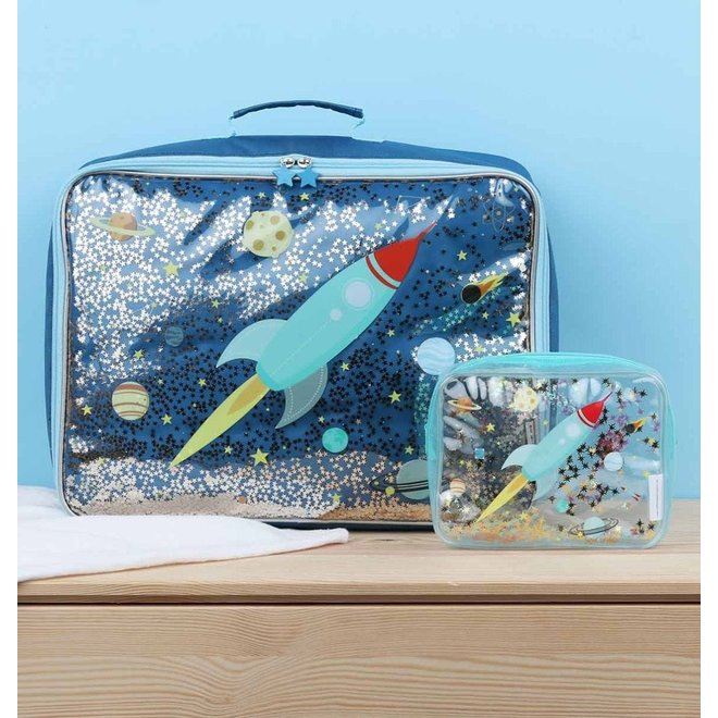Koffer: glitter-ruimte | A little lovely company