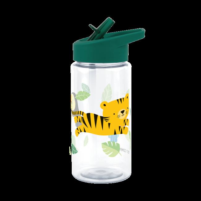 A Little Lovely Company Drinkfles Tritan Jungle Tijger | A little lovely company