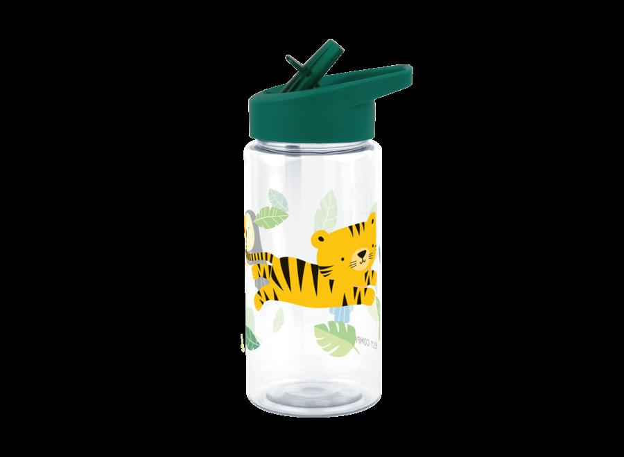 Drinkfles Tritan Jungle Tijger | A little lovely company