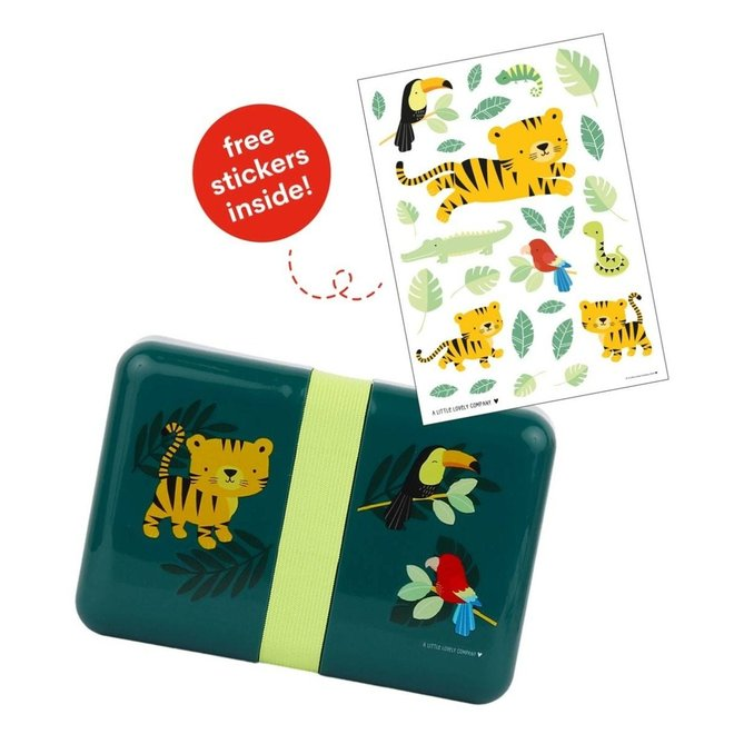 Lunchbox Jungle Tijger | A little lovely company