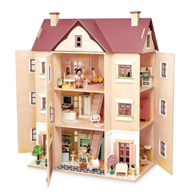 Tender Leaf Toys Houten Poppenhuis 'Fantail' | Tender Leaf Toys
