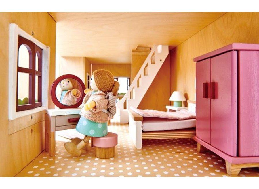 Houten Poppenhuis 'Fantail' | Tender Leaf Toys