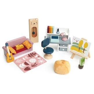 Tender Leaf Toys Meubeltjes Studeerkamer – Poppenhuis | Tender Leaf Toys