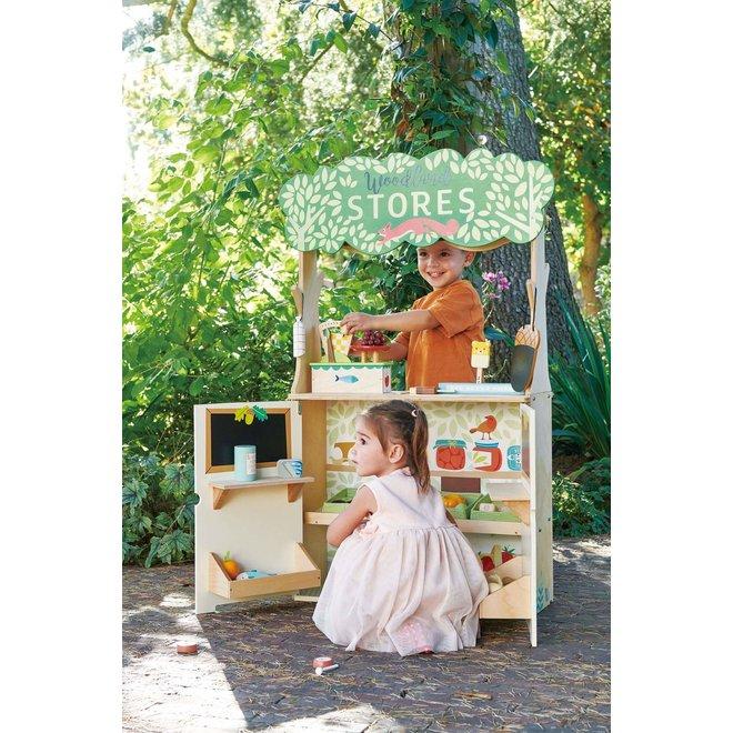 Winkeltje & Poppenkast 'Woodland' | Tender Leaf Toys