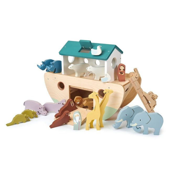 Ark van Noah in hout | Tender Leaf Toys