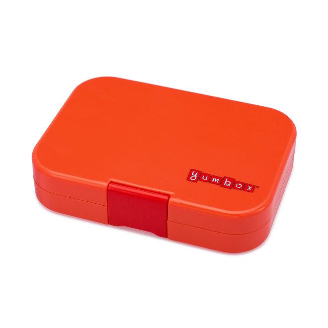 Yumbox Panino 4-vakken – Saffron oranje / Explore tray