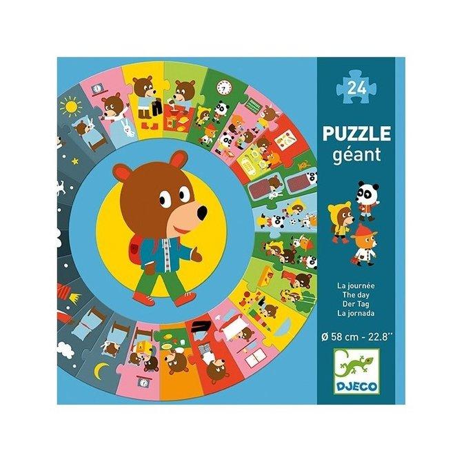 Puzzel XL (24st) De Dag| Djeco
