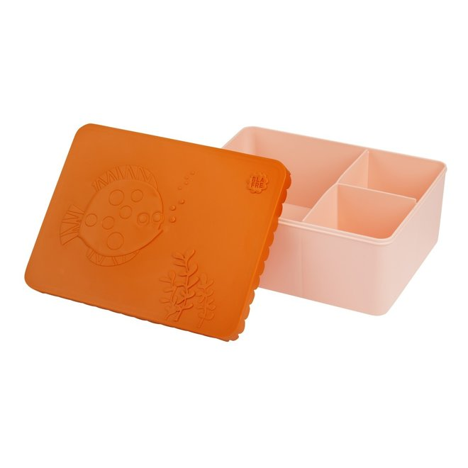 Brooddoos / Lunchbox  Sealife Oranje | Blafre