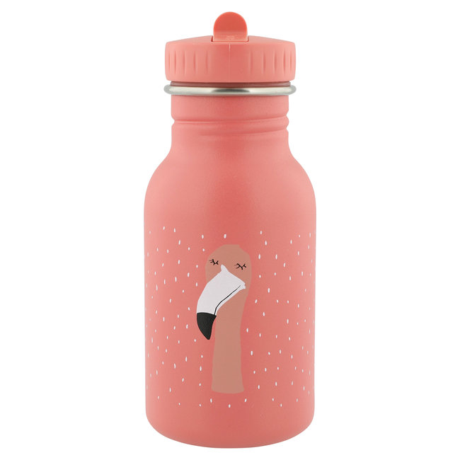 Drinkfles Mrs. Flamingo - 350 ml Stainless steel   Trixie Baby