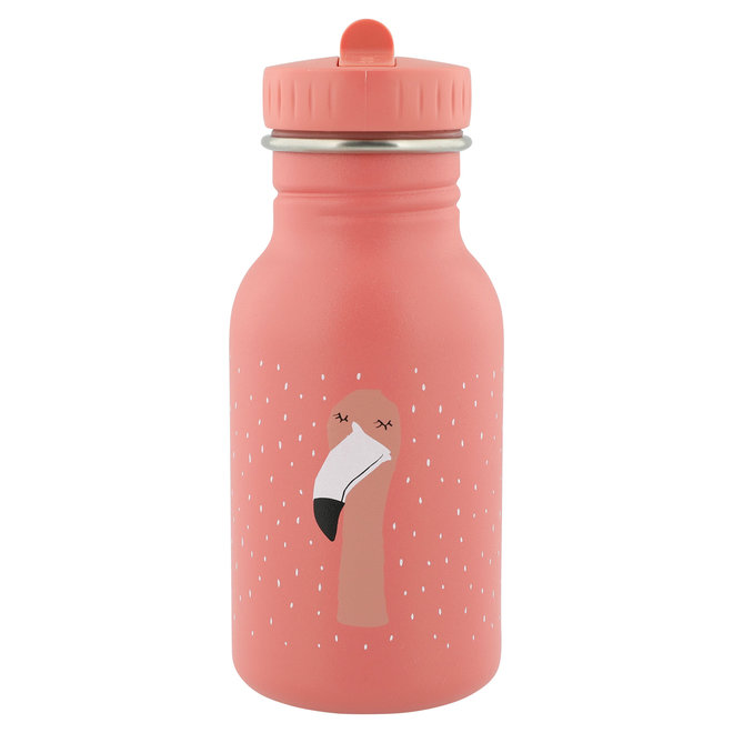 Drinkfles Mrs. Flamingo - 350 ml Stainless steel | Trixie Baby