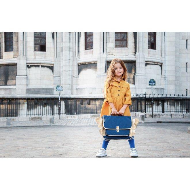 Boekentas Vleugels Blauw Mini   Caramel & Cie