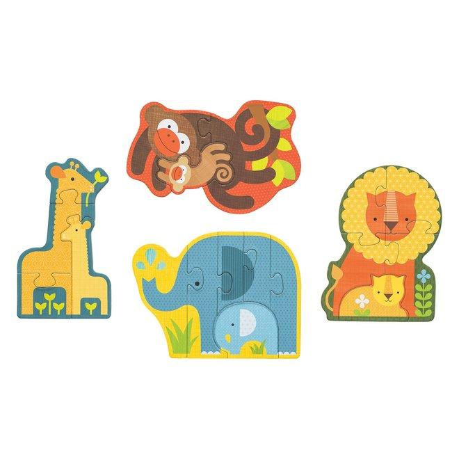 Beginnerpuzzel Safari - Petit Collage