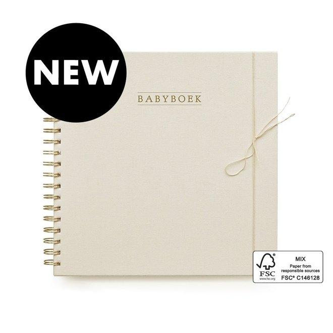 Babyboek - Linnen Ivoor (Nl)   House of Products