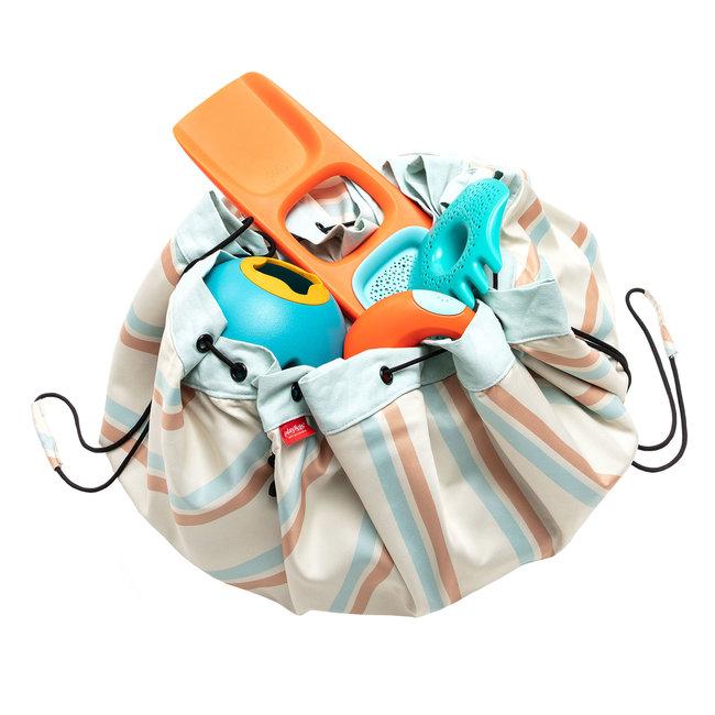 Play&Go Opbergzak en speelmat Outdoor Stripes | Play&Go