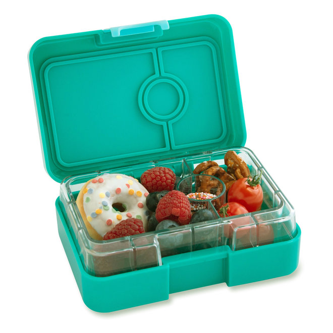Yumbox Mini Snack – Kashmir Aqua